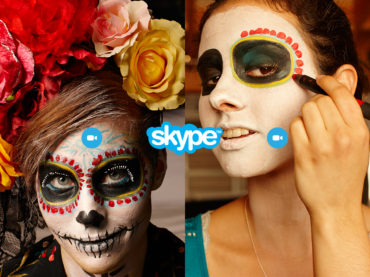Skype Holiday Social Content