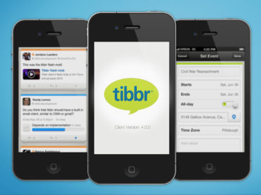 tibbr App for Mobile
